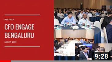 CFO Engage Bengaluru. Jan 17, 2019